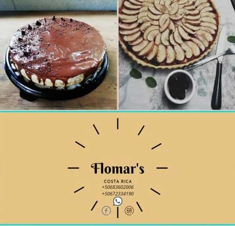 Flomar's Desserts delivery in Chirripo Valley, Costa Rica