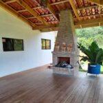 House rental San Antonio de Rivas fireplace